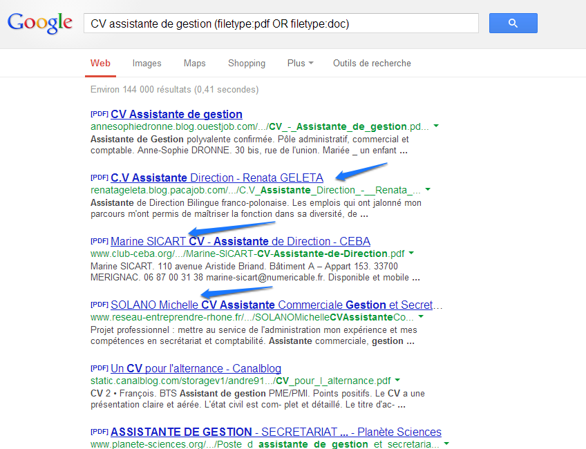 Dompter Google Search 10