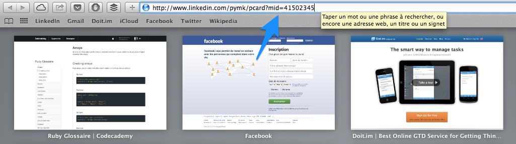 Trouver un nom complet LinkedIn 2 - Coller un ID