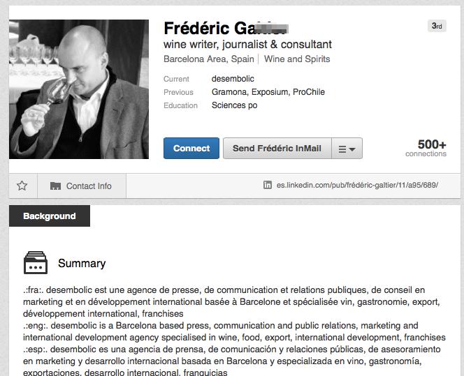 Trouver un nom complet LinkedIn 2 - Profil trouvé 2