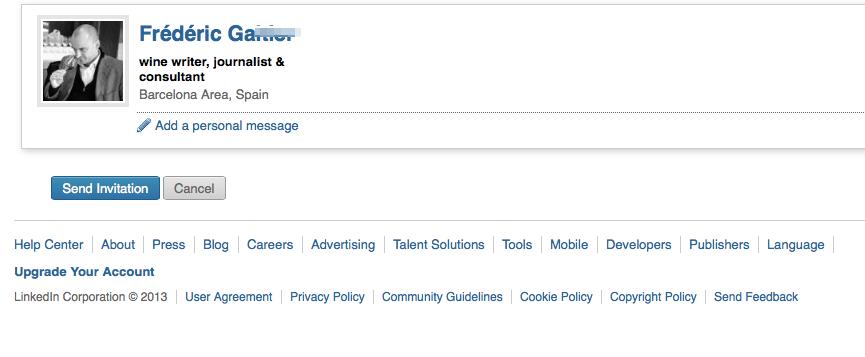 Trouver un nom complet LinkedIn 2 - le mini profil