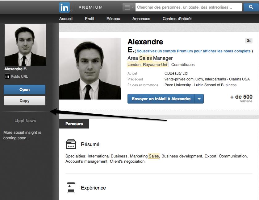 Nom_LinkedIn_part3 - Barre Lippl déployée