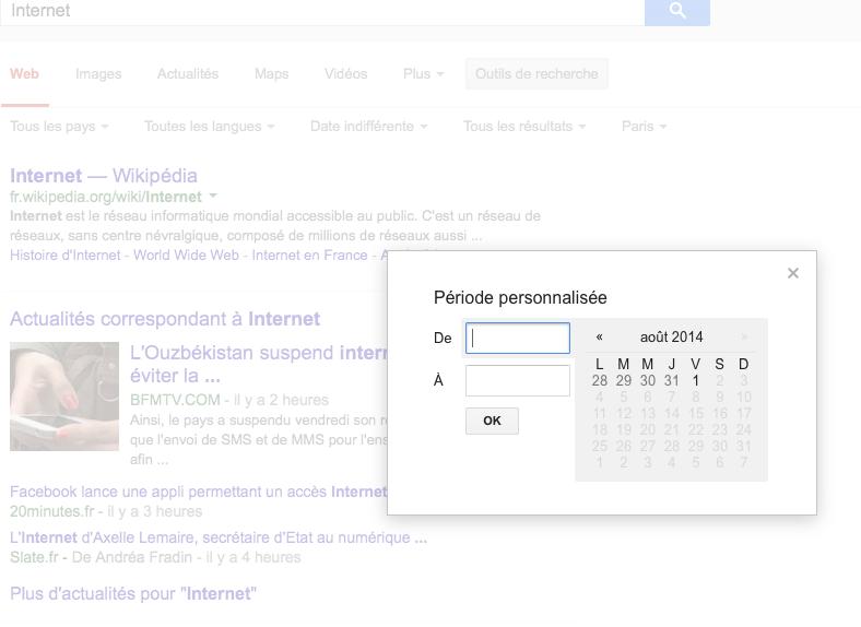 Internet_-_Recherche_Google - Période personnalisée
